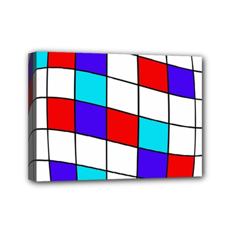Colorful Cubes  Mini Canvas 7  X 5  by Valentinaart