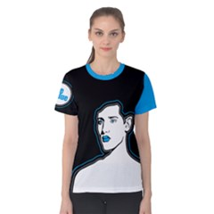 Be Blue Women s Cotton Tee by Contest2492222