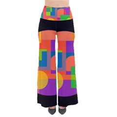 Colorful Circle  Pants by Valentinaart