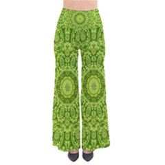 Magic Flowers In  The Deep Valley Of Paradise Pants by pepitasart