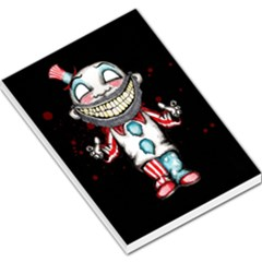 Super Secret Clown Business Ii  Large Memo Pads