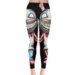 Super Secret Clown Business Ii  Leggings  by lvbart