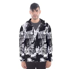 Grunge Skull Hooded Wind Breaker (men)