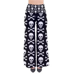 Skull And Crossbones Pattern Pants by ArtistRoseanneJones
