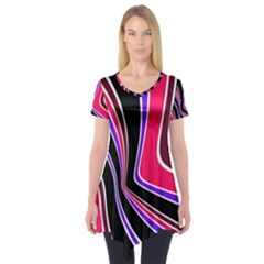 Colors Of 70 s Short Sleeve Tunic