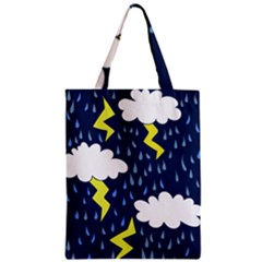 Thunderstorms Zipper Classic Tote Bag by BubbSnugg