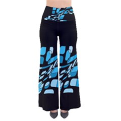 Blue Abstraction Pants by Valentinaart