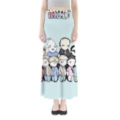 Goonies Vs Monster Squad Maxi Skirts by lvbart