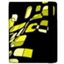 Yellow abstraction Apple iPad Mini Flip Case View2