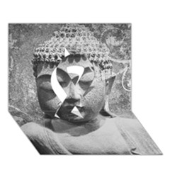 Buddha Ribbon 3d Greeting Card (7x5)