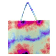 Calm Of The Storm Zipper Large Tote Bag by TRENDYcouture