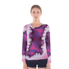 Liquid Roses Women s Long Sleeve Tee by TRENDYcouture