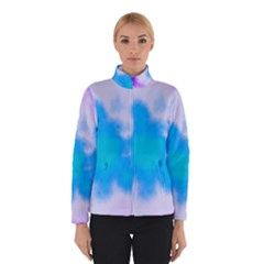 Blue And Purple Clouds Winterwear by TRENDYcouture