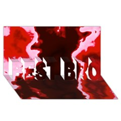 Crimson Sky Best Bro 3d Greeting Card (8x4)  by TRENDYcouture