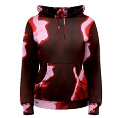Crimson Sky Women s Pullover Hoodie by TRENDYcouture