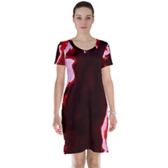 Crimson Sky Short Sleeve Nightdress by TRENDYcouture