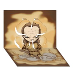 Scourge Of Carpathia Clover 3d Greeting Card (7x5)