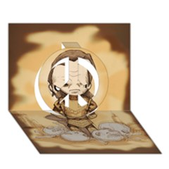 Scourge Of Carpathia Peace Sign 3d Greeting Card (7x5)