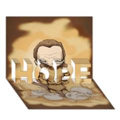 Scourge Of Carpathia Hope 3d Greeting Card (7x5)  by lvbart