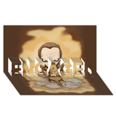 Scourge Of Carpathia Engaged 3d Greeting Card (8x4)