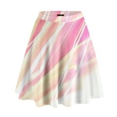 Light Fun High Waist Skirt by tsartswashington
