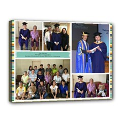 JH Graduation Collage - Canvas 16  x 12  (Stretched)