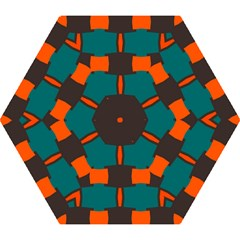 3 Colors Shapes Pattern                                                                                  Umbrella by LalyLauraFLM