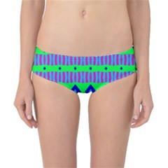 Rhombus and stripes                                                                                   Classic Bikini Bottoms by LalyLauraFLM