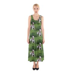 Pit Bull T Bone Sleeveless Maxi Dress by ButThePitBull