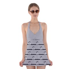 Pit Bull T Bone Halter Swimsuit Dress