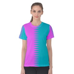 Contrast P1 Women s Cotton Tee by olgart