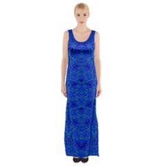 Ocean Spark Maxi Thigh Split Dress by MRTACPANS