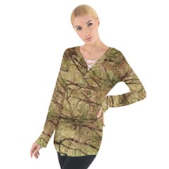 Camo Women s Tie Up Tee