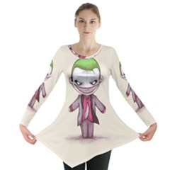 Suicide Clown Long Sleeve Tunic  by lvbart