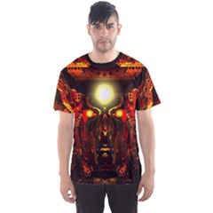mind Chamber  By Spaced Painter Men s Sport Mesh Tee by SpacedPainterArt
