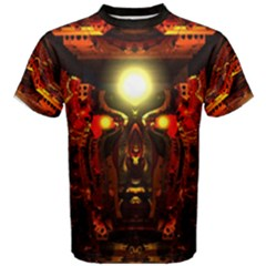 mind Chamber  By Spaced Painter Men s Cotton Tee by SpacedPainterArt