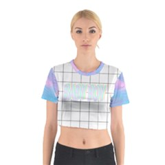 Baby B Transparent  Cotton Crop Top by itsybitsypeakspider