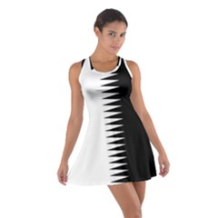 Black and white  Racerback Dresses by olgart