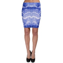 Tie Dye Indigo Bodycon Skirt by olgart
