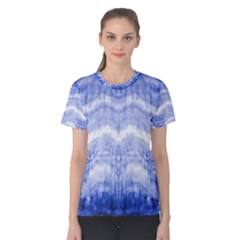 Tie Dye Indigo Women s Cotton Tee by olgart