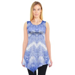 Tie Dye Indigo Sleeveless Tunic by olgart