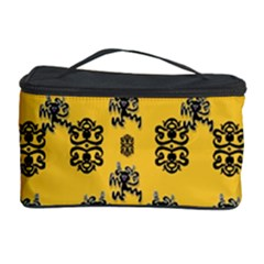 Disco Dancing In The  Tribal Nature  Cosmetic Storage Case by pepitasart