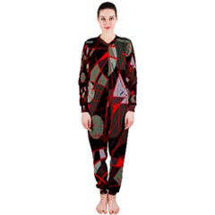 Artistic Abstraction Onepiece Jumpsuit (ladies)  by Valentinaart