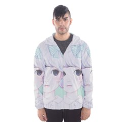 Spring Mint! Hooded Wind Breaker (Men) by kaoruhasegawa