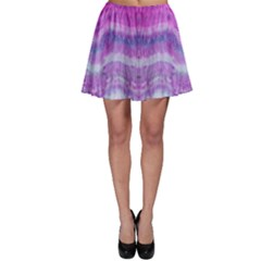 Tie Dye Color Skater Skirt by olgart