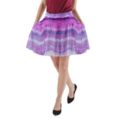 Tie Dye Color A Line Pocket Skirt by olgart