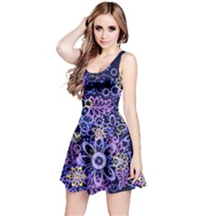 Night Flowers Reversible Sleeveless Dress by olgart