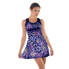 Night Flowers Racerback Dresses by olgart