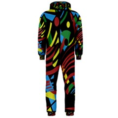 Optimistic Abstraction Hooded Jumpsuit (men)  by Valentinaart