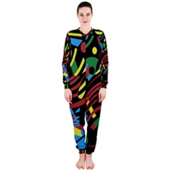 Optimistic Abstraction Onepiece Jumpsuit (ladies)  by Valentinaart